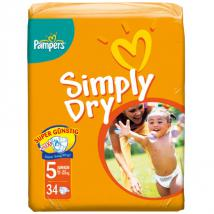 pampers simply dry junior von rossmann f r 6 99 ansehen. Black Bedroom Furniture Sets. Home Design Ideas