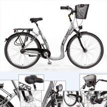 Alu-City-Tiefeneinsteiger-Fahrrad 28