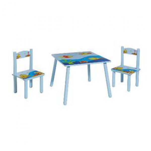Kindertisch mit Stühlen von Marktkauf ansehen!