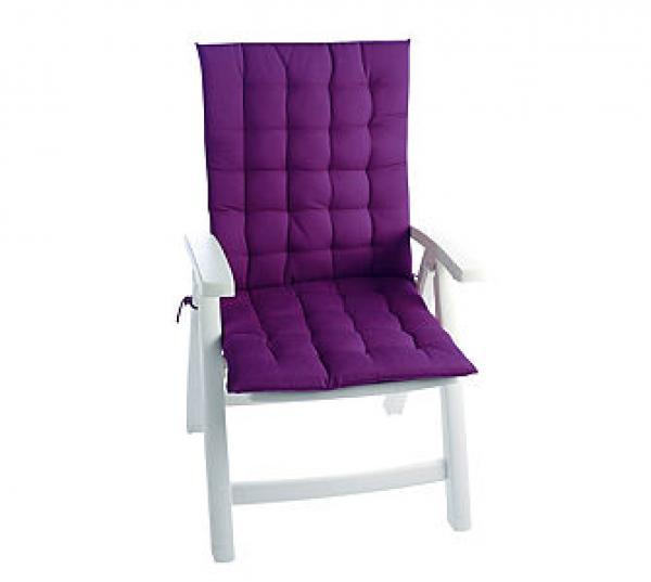 auflagen dona 2 er set f r hochlehner lila von. Black Bedroom Furniture Sets. Home Design Ideas