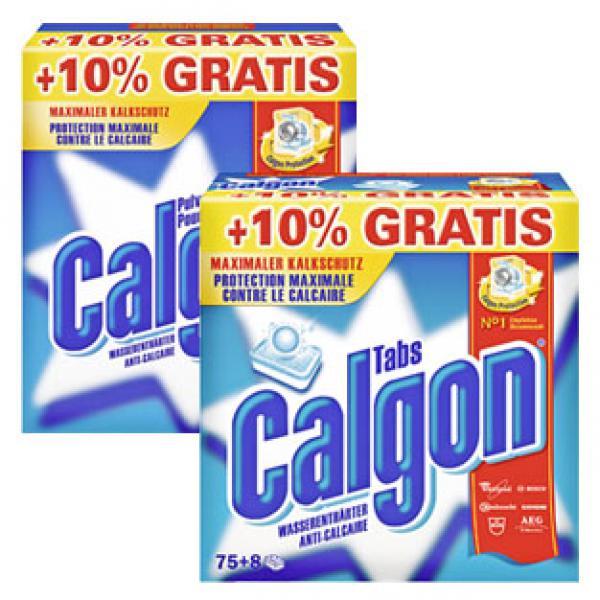 calgon wasserenthärter pulver oder tabs + 10 % gratis von  ~ Geschirrspülmaschine Tabs Oder Pulver