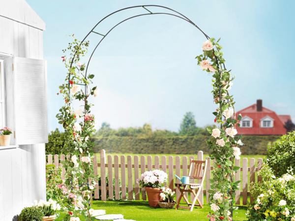 florabest rosenbogen von lidl ansehen. Black Bedroom Furniture Sets. Home Design Ideas