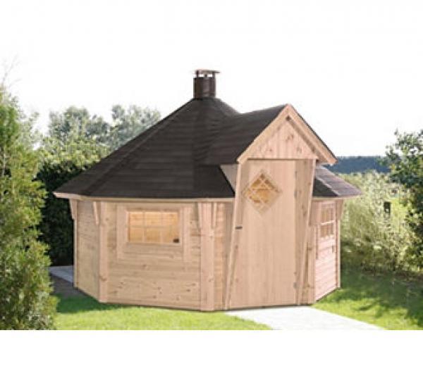 wolff finnhaus grillkota eco 8 9 qm fl che und 8 eckig von ansehen. Black Bedroom Furniture Sets. Home Design Ideas