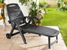 florabest sonnenliege anthrazit von lidl f r 37 99 ansehen. Black Bedroom Furniture Sets. Home Design Ideas