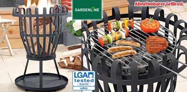 gardenline grill und feuerkorb von aldi s d ansehen. Black Bedroom Furniture Sets. Home Design Ideas
