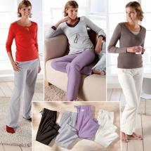 Sommer Homewear-Hose