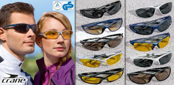 CRANE® Rad und Sportbrille