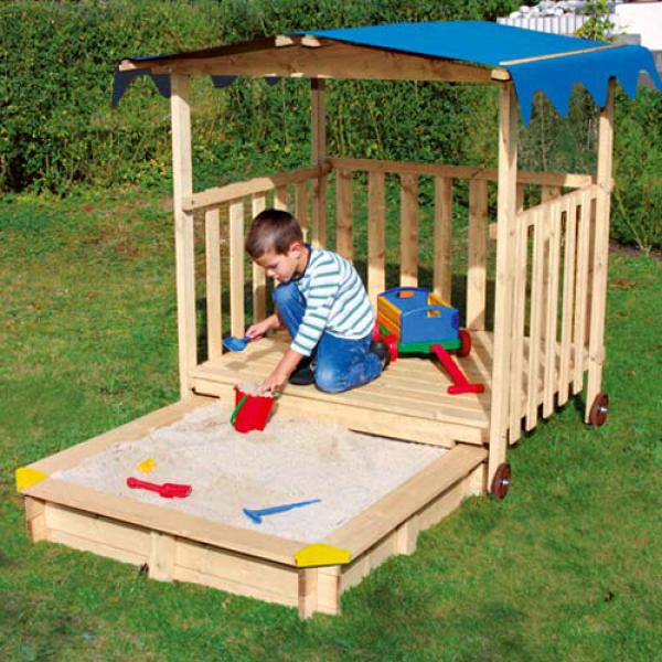 sandkasten big sandpit mit abdeckung nur inklusive. Black Bedroom Furniture Sets. Home Design Ideas