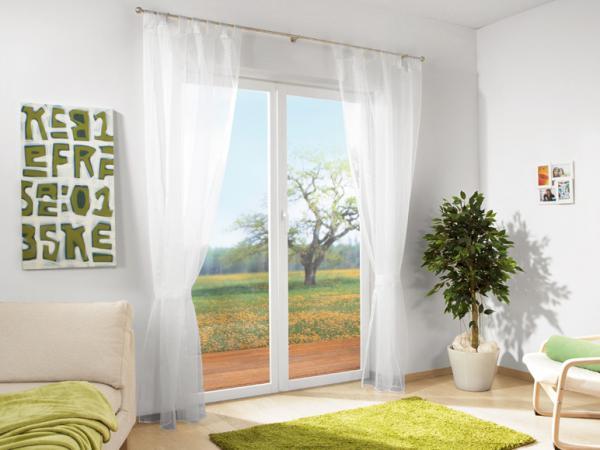 meradiso schlaufenvorhang von lidl ansehen. Black Bedroom Furniture Sets. Home Design Ideas