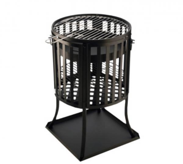 Feuerkorb Grill Bbq Collection Two In One Von Plus