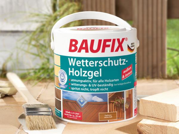 BAUFIX Wetterschutz Holzgel Lidl