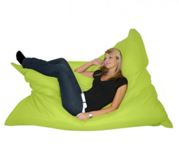 riesen sitzsack 320 liter apfelgr n von ansehen. Black Bedroom Furniture Sets. Home Design Ideas