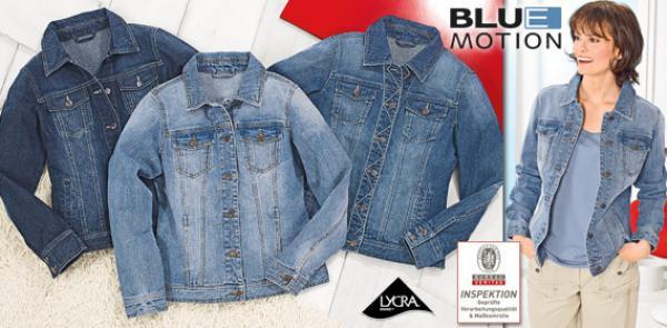 blue motion damen jeansjacke von aldi s d ansehen. Black Bedroom Furniture Sets. Home Design Ideas