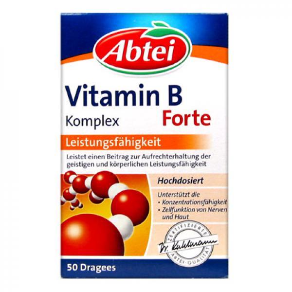 abtei vitamin b komplex forte von rossmann ansehen. Black Bedroom Furniture Sets. Home Design Ideas