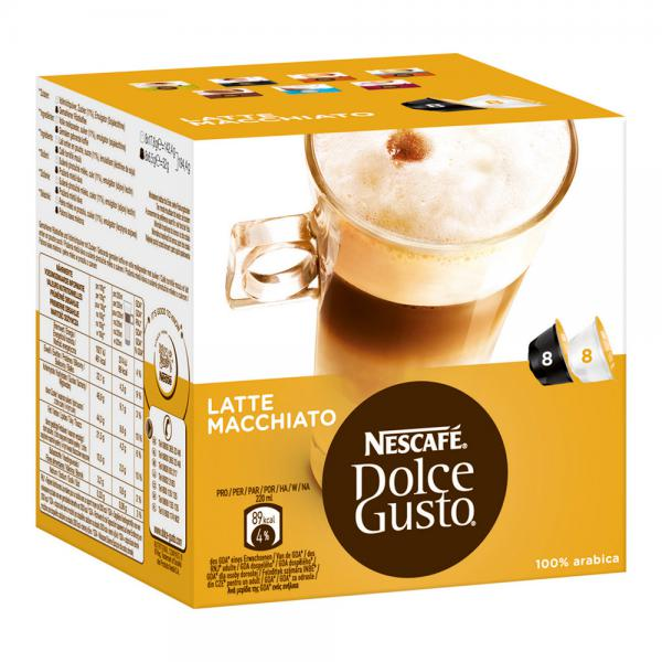 nescaf dolce gusto kapseln latte macchiato von rossmann ansehen. Black Bedroom Furniture Sets. Home Design Ideas