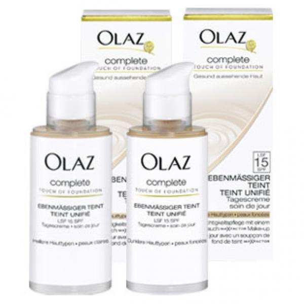 Olaz Complete Touch Of Foundation Von Real Ansehen Discountode