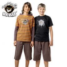 Jungen-Ringel-T-Shirt