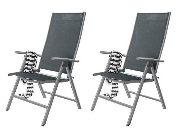 florabest 2er set aluminium klappsessel von lidl ansehen. Black Bedroom Furniture Sets. Home Design Ideas