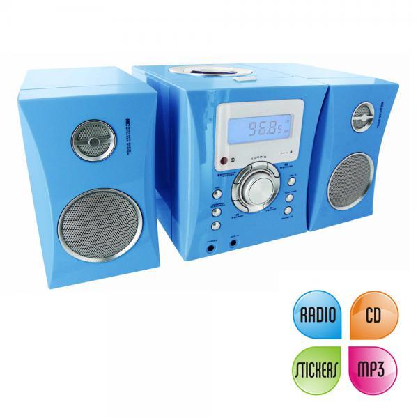 bigben kinder stereo musikanlage in blau von rossmann. Black Bedroom Furniture Sets. Home Design Ideas