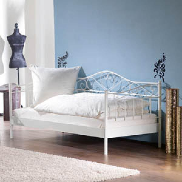 metallbett prinzessin von d nisches bettenlager ansehen. Black Bedroom Furniture Sets. Home Design Ideas