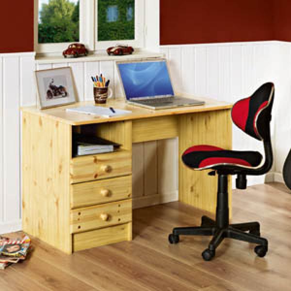 schreibtisch maxi von d nisches bettenlager ansehen. Black Bedroom Furniture Sets. Home Design Ideas