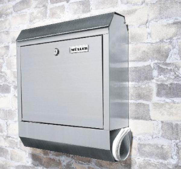 TORONTO Edelstahl-Design-Briefkasten