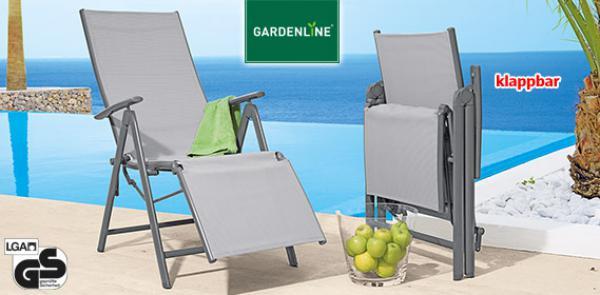 Relaxsessel garten aldi  GARDENLINE® Aluminium-Relaxsessel von Aldi Süd ansehen!