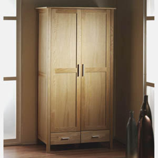kleiderschrank new oak von d nisches bettenlager ansehen. Black Bedroom Furniture Sets. Home Design Ideas