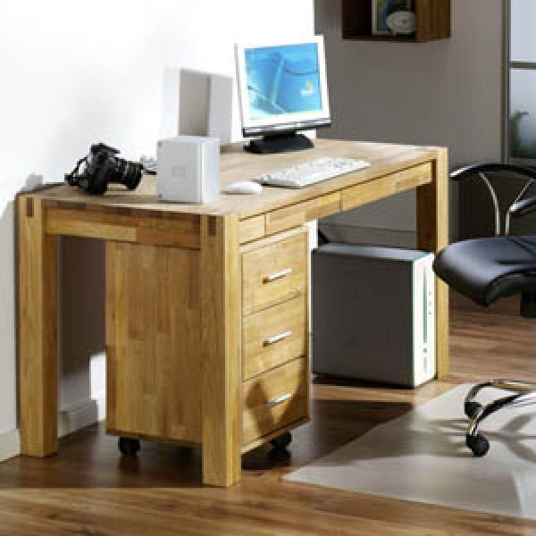 Schreibtisch royal oak von d nisches bettenlager ansehen for Schreibtisch 1 40 breit