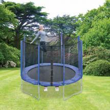trampolin mit sicherheitsnetz von aldi nord ansehen. Black Bedroom Furniture Sets. Home Design Ideas