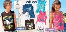 ALIVE® Kinder- Beachshirt