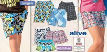 ALIVE® Kinder- Beachshorts