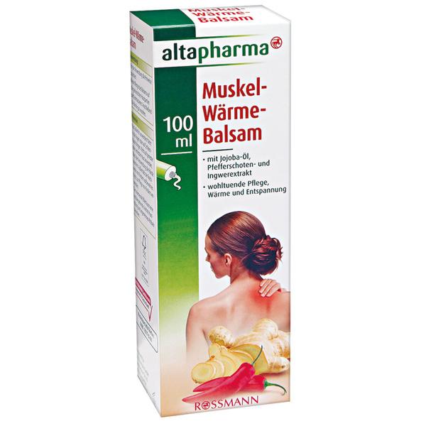 altapharma Muskel-Wärme-Balsam von Rossmann für 3,49