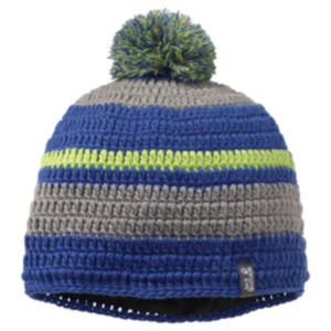 Jack Wolfskin Crochet Cap L blueberry