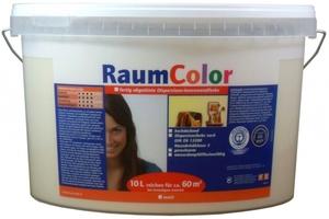 Raumcolor Wandfarbe edelbraun matt, 10 l