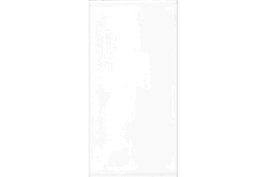 Cersanit Wandfliese Bianca white glossy 30 x 60 cm