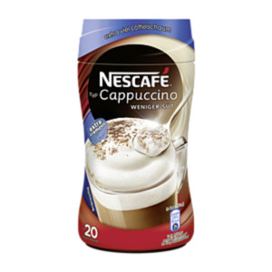 Nescafé Cappuccino weniger süß 250g