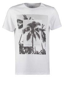 Burton Menswear London TShirt print white