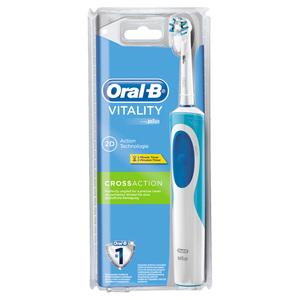 Oral-B powered by Braun              Vitality Crossaction elektrische Zahnbürste