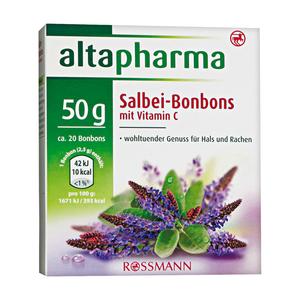 altapharma              Salbei-Bonbons mit Vitamin C