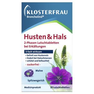 Klosterfrau Broncholind              Husten & Hals 2-Phasen Lutschtabletten