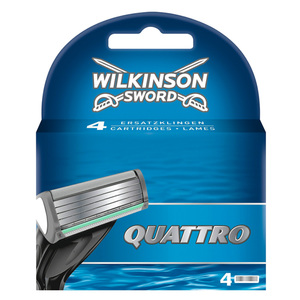 Wilkinson Sword Quattro              Ersatzklingen