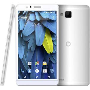 Odys Neo 6 LTE-Dual-SIM Smartphone 15.2 cm (6 Zoll) 1.3 GHz Quad Core 16 GB 5 Mio. Pixel Android™ 5.1 Lollipop Silber