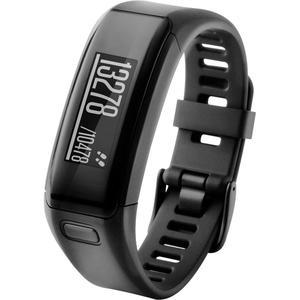 Activity-Tracker mit Pulsfunktion Garmin vivosmart® HR Standard Schwarz mit Display, mit Pulsfunktion