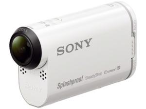 SONY HDR-AS200 V.CEN Action Cam, Bildstabilisator, WLAN, Near Field Communication, GPS, Weiß