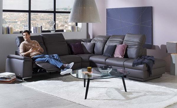 leder wohnlandschaft von himolla von m bel kraft ansehen. Black Bedroom Furniture Sets. Home Design Ideas