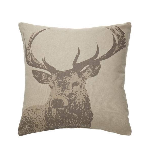 kissenh lle mit hirschmotiv 50x50 cm von strauss. Black Bedroom Furniture Sets. Home Design Ideas