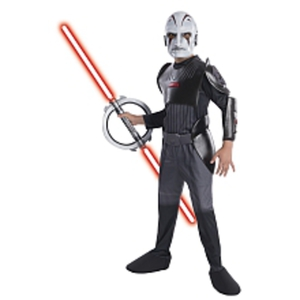 Rubies Star Wars Rebels - Kinderkostüm Inquisitor Deluxe, Größe M