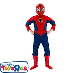 Rubies - Spiderman Kostüm mit leuchtender Spinne, Gr. L