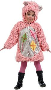 Kostüm Rosa Bär mit Drachen
